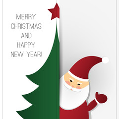 Christmas Greeting Card Design Template