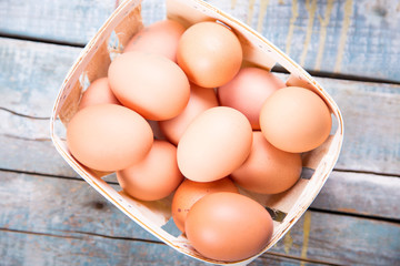 eggs in container