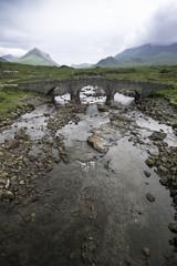 Old bridge in the Isle of Skye