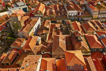 roofs of Porto, Portugal