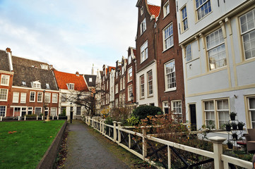 Amsterdam, il Beginenhof - Olanda