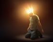 Leinwanddruck Bild - Crown of light