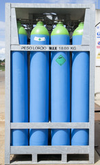 cylinders of refrigerant