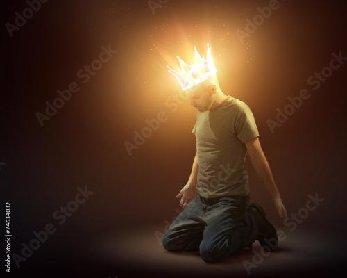 Leinwanddruck Bild Crown of light