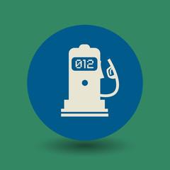 Gas station symbol, vector