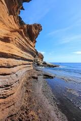 Tenerife island coast