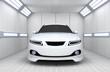 Leinwandbild Motiv Car in garage