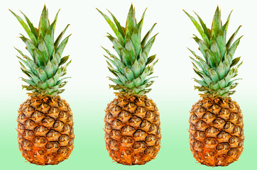 texture of the pineapple