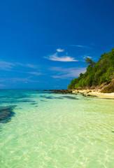 Heavenly Blue Lagoon Landscape