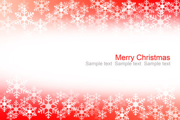 Abstract red and white christmas background.