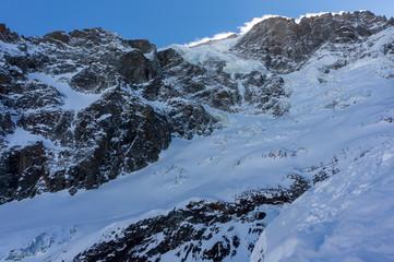 Glacier in La Grave La Meije