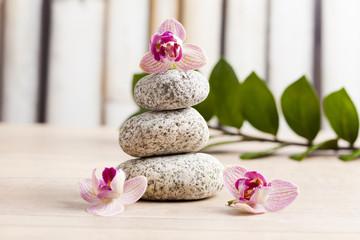 zen stones, welness concept
