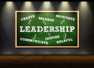 LEADERSHIP - written concept