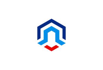 logo business finance vector logo