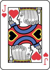 Stylized Jack of Hearts