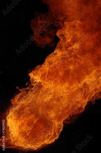 canvas print picture Feuer