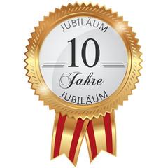 Jubiläum für 10 Jahre