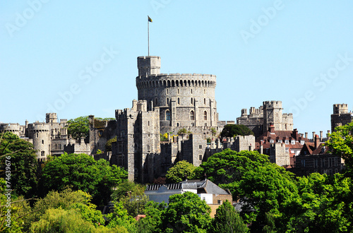 Plexiglas Oude gebouw Windsor Castle