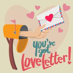 You have Got Love Letter!