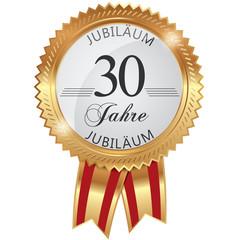 Jubiläum für 30 Jahre