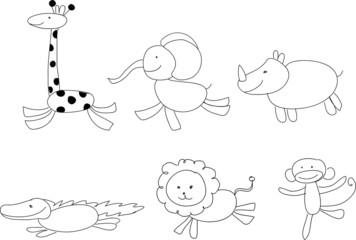 Детские рисунки животных