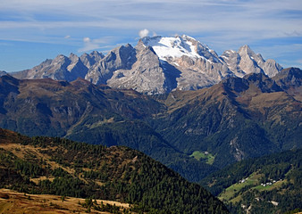 highest peak of Dolomites mountains