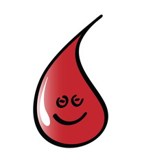 Vector illustration of Blood Drop