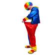 Full length clown