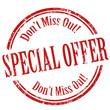 Special Offer-stamp