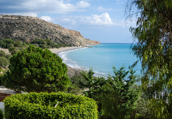 Pissouri bay in Cyprus