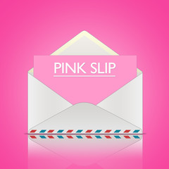 PINK SLIP - message