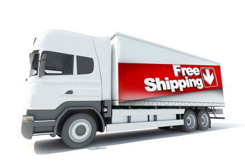 Truck, free shipping
