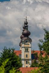 Kirche - Turm - Kirchenuhr