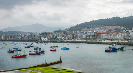 Harbour of Castro Urdiales, Cantabria - Spain