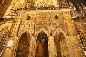 St. Vitus Cathedral in Prague Castle, Czech Republic