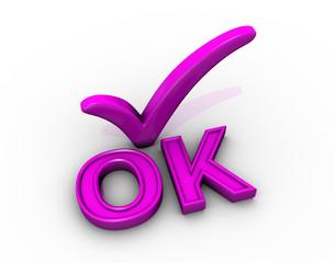 Tick Icon OK
