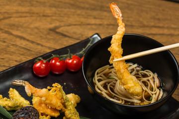 Tempura Shrimps with Vegetables