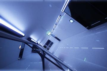 Super Modern Building Corridor 3D artwork