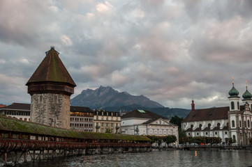 Chapel Bridge at Luzern
