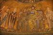 Rome - mosaic Coronation of Virgin in Santa Maria in Trastevere