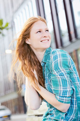 City Lifestyle - Smiling Woman