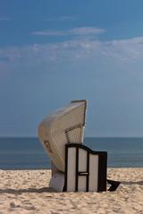 Strandkorb an der Ostsee 3