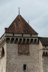 Chillon Castle - clock tower