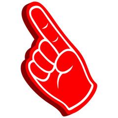 3D Foam Finger