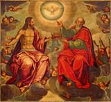 Seville - The Holy Trinity paint in Anunciacion church