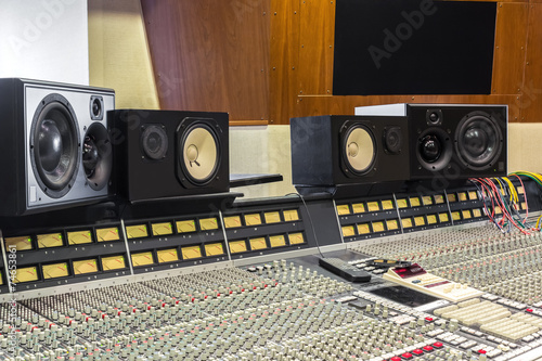 A professional studio for mixing and recording - 74653861