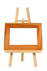 Miniature Wooden Frame Background