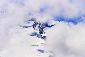 Mount Baker Under Clouds from Artist Point Washington State