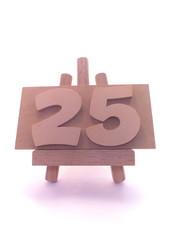 カウント・25