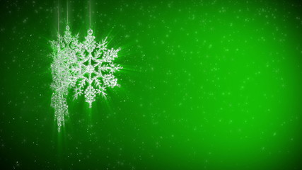 abstract background snowflake